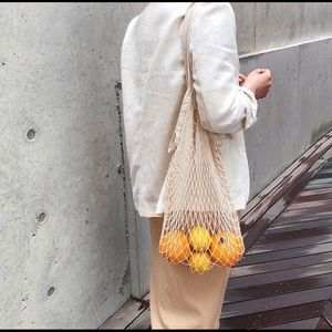Handbags - French Market Netted Bag and Butterfly Pouch